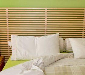 Camera da letto greenery